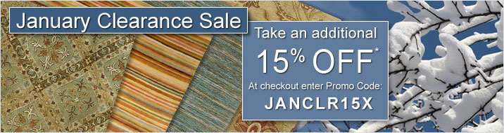 January Clearance Sale Details