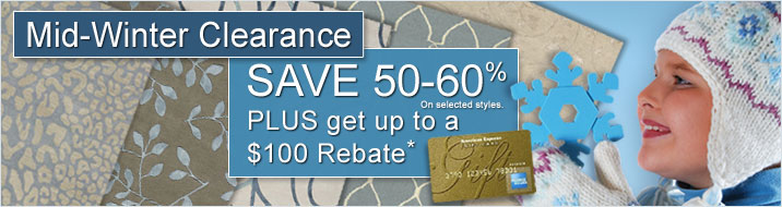 Mid-Winter Clearance Sale Rebate Details