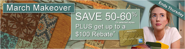 March Makeover Sale Rebate Details