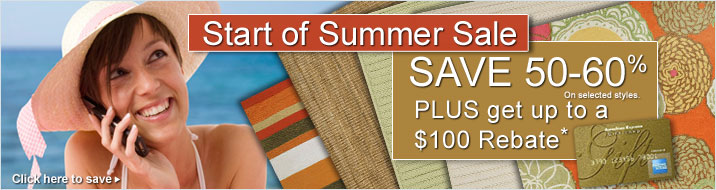 Start of Summer Sale Rebate Details