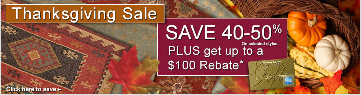 Thanksgiving Sale Rebate Details