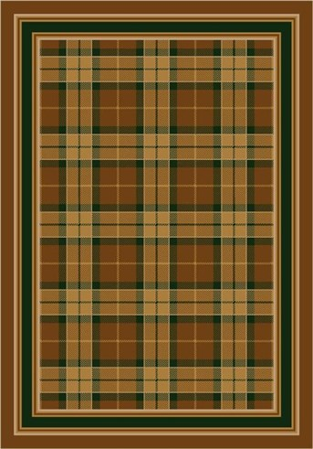 Milliken Design Collection Magee Plaid 8473 Rugs Rugs Direct
